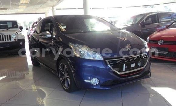 Buy Peugeot 206 Blue Car in Windhoek in Namibia
