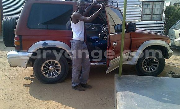 Buy Mitsubishi Pajero Red Car in Windhoek in Namibia