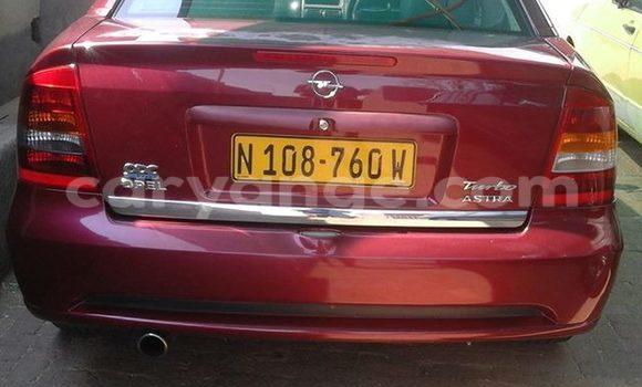 Buy Opel Astra Red Car in Windhoek in Namibia