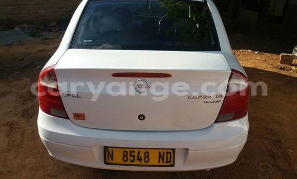 Buy Opel Corsa White Car in Windhoek in Namibia
