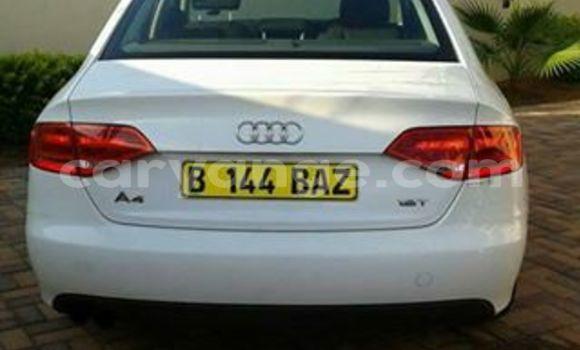 Buy Audi A4 White Car in Windhoek in Namibia