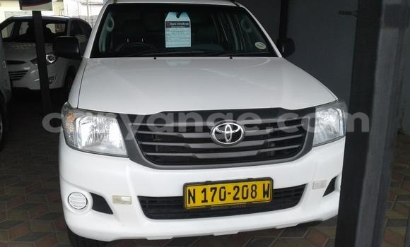 Buy Toyota Hilux White Car in Windhoek in Namibia