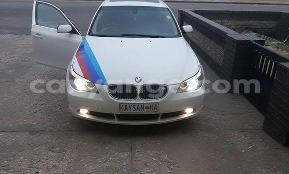 Buy BMW 5-Series White Car in Windhoek in Namibia