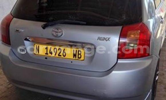 Buy Toyota Runx Silver Car in Windhoek in Namibia