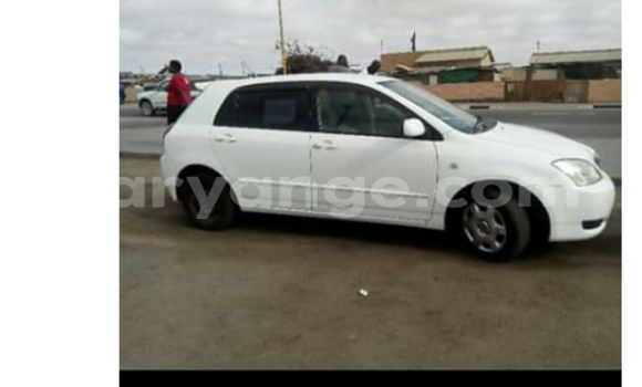 Buy Toyota Runx White Car in Swakopmund in Namibia