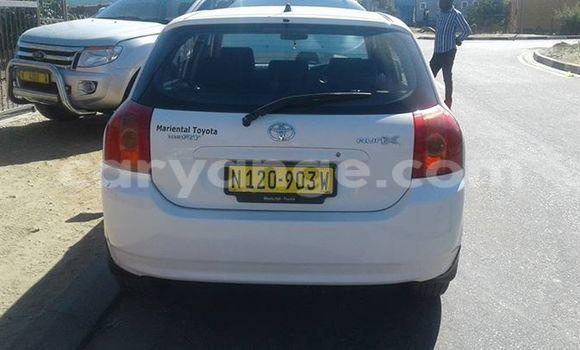 Buy Toyota Runx White Car in Windhoek in Namibia
