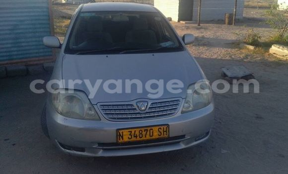 Buy Toyota Allex Silver Car in Windhoek in Namibia