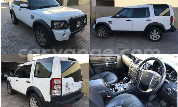 Buy new and used Land Rover Discovery White Car in Swakopmund in Namibia
