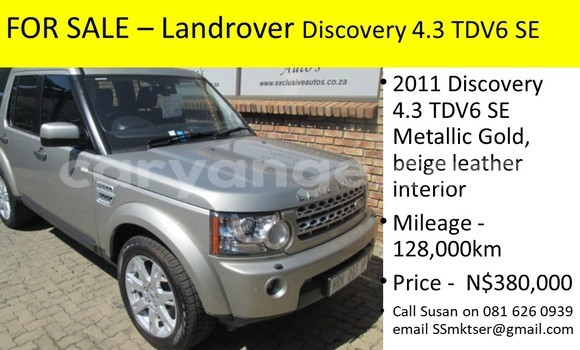 Buy new and used Land Rover Discovery Beige Car in Windhoek in Namibia