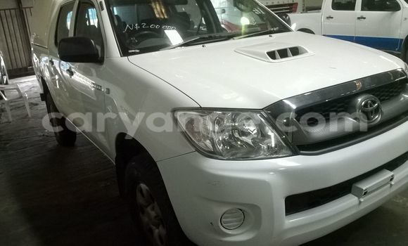 Buy Toyota Hilux White Car in Walvis Bay in Namibia